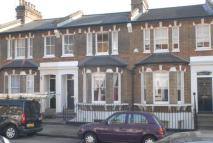 Terraced house in Southvale Road...