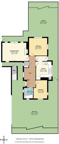 Floor Plan with Driv