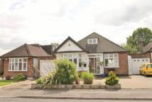 Hillside Crescent Detached Bungalow for sale