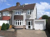 4 bed semi detached house in Runnymede Gardens...