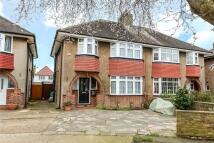 semi detached property in Hillcroft Crescent...