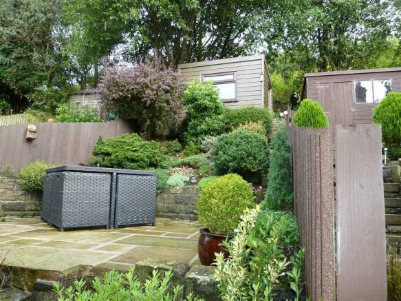 Rear Garden (rented)
