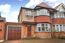 semi detached property in Abbotsbury Gardens...