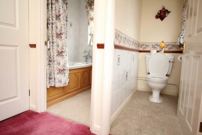 WC and bath