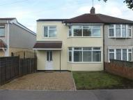 3 bedroom semi detached home to rent in Merlin Road North...