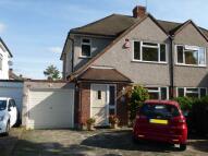 3 bedroom semi detached property in Avon Road, Upminster...