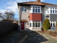 semi detached house in Lambourne Gardens...