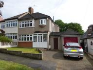 3 bed semi detached home for sale in River Drive, Upminster...