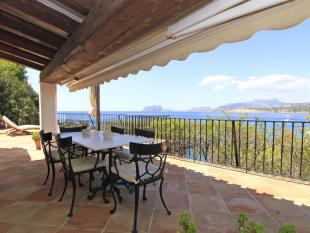 Luxury Villa in Moraira, Terrace