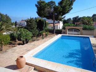 Villa in Calpe, Pool