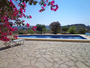 Finca in Benissa, Pool