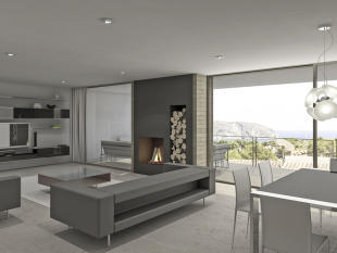 Modern Villa in Moraira, Interior