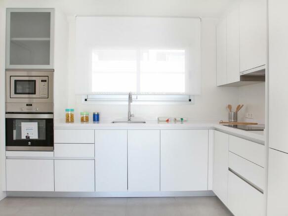 Luxury Villa in Cumbre del Sol, Kitchen