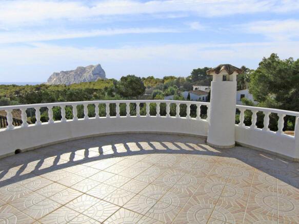 Villa in Benissa, Views