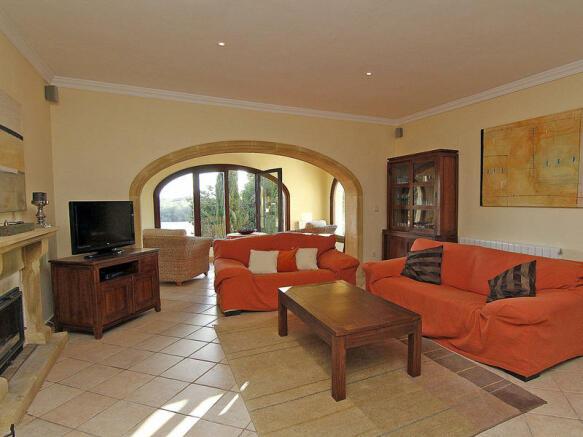 Luxury Property in Moraira, interior