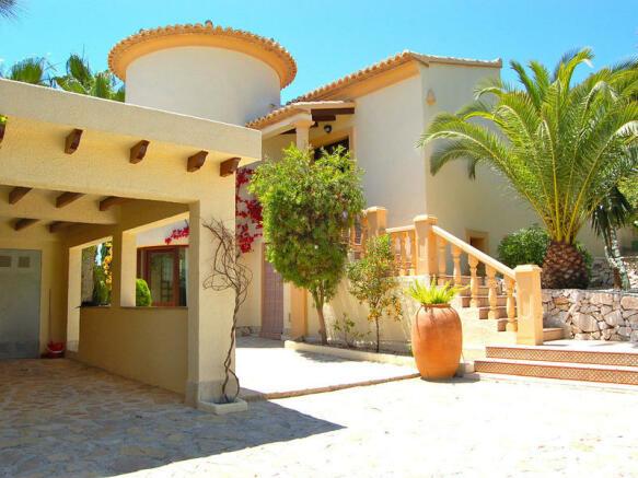 Luxury Property in Moraira, Villa