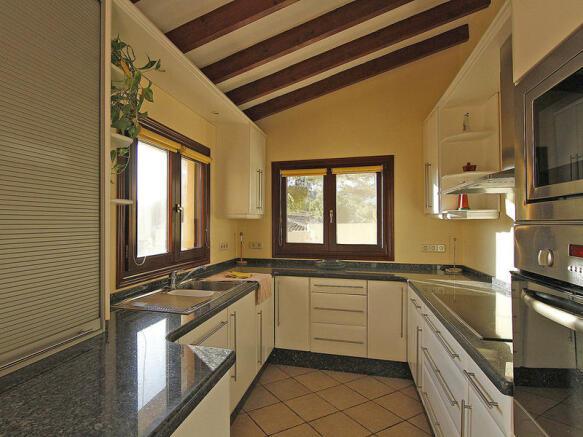 Luxury Property in Moraira, kitchen