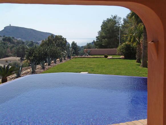 Villa in Moraira, Views