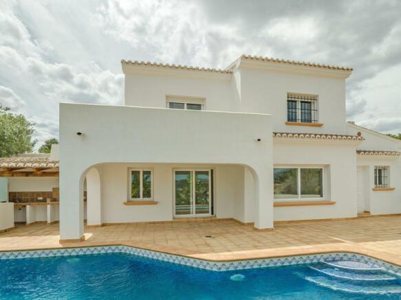 Ibiza Style Villa in Moraira, Villa