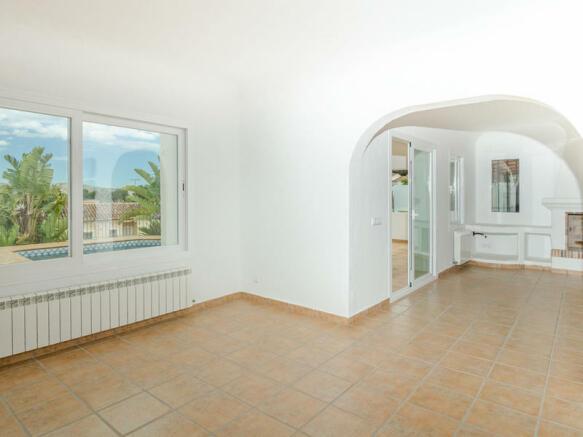 Ibiza Style Villa in Moraira, Interior