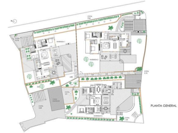 Luxury Villa in Moraira, Plan