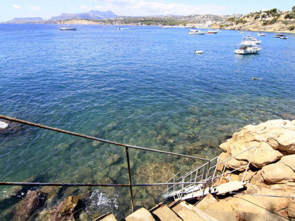 Luxury Villa in Moraira, Direct Sea Access