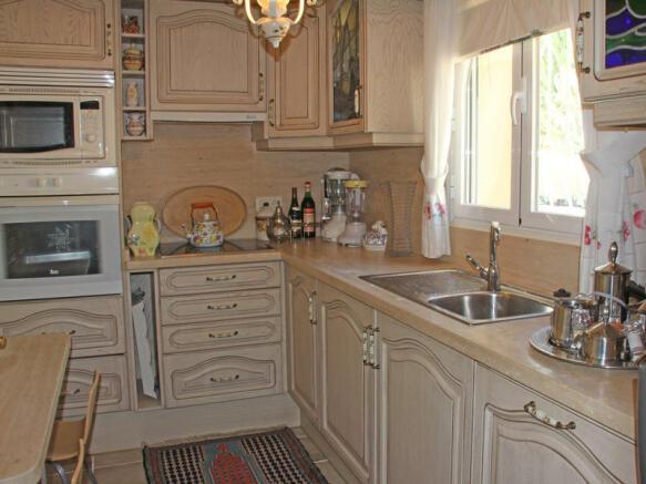 Villa in Calpe, Kitchen