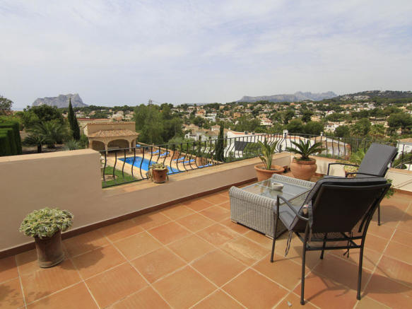 Luxury Villa in Benissa, Terrace