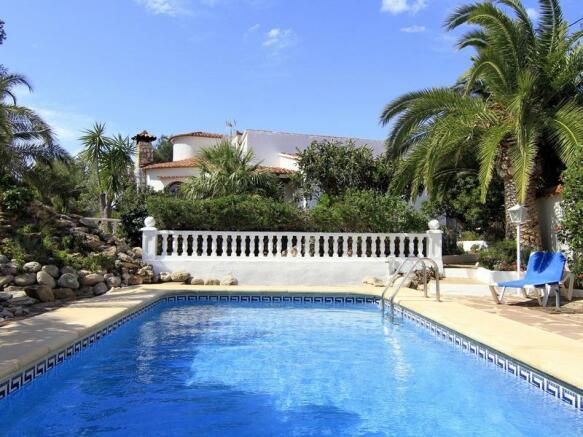 Villa in Benissa, Pool