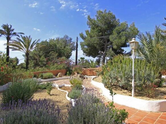 Villa in Benissa, Garden