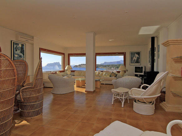 Luxury Apartment in Moraira, interior