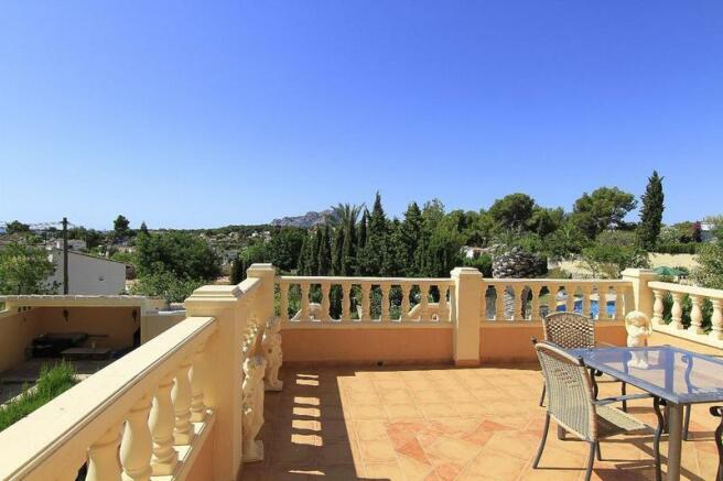 House in Benissa, terrace