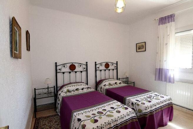 House in Benissa, interior