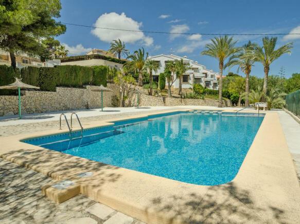 Bungalow in El Portet de Moraira, Community Swimming Pool