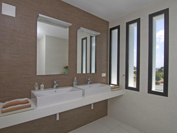 Modern Luxury Villa in Moraira, Bathroom