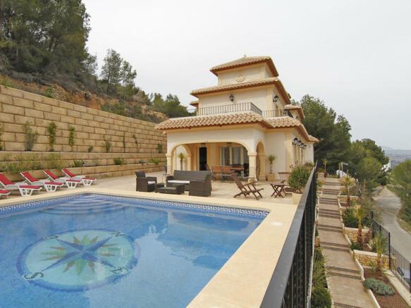 Luxury Villa in Calpe, Villa
