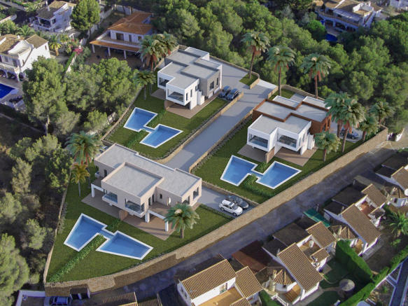 Luxury Semi-Detached in Moraira, Residential