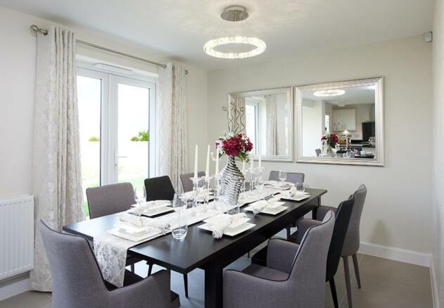 Harborough dining room