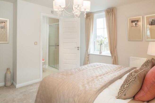 Kennington master bedroom