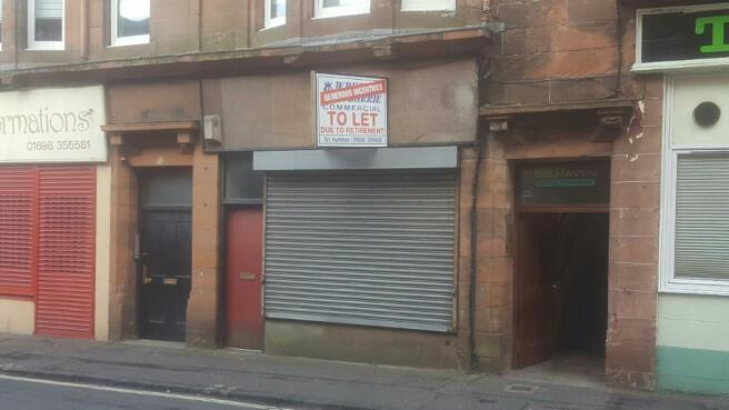 Shop To Rent In 10 Belhaven Terrace Wishaw Lanarkshire
