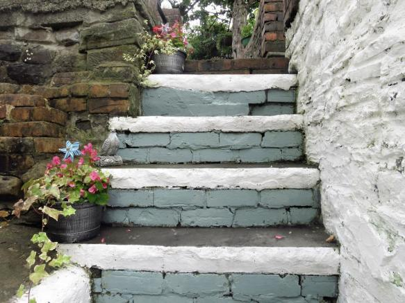 Garden Feature Steps