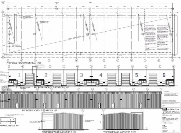 Site/drainage plan