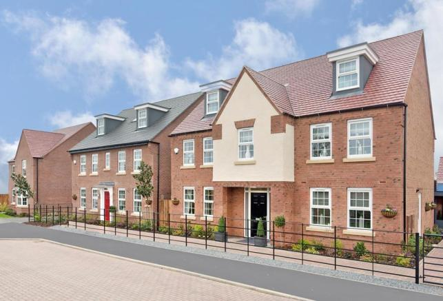 Poets Meadow Marketing Suite and Show homes