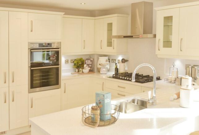 The Moorecroft kitchen
