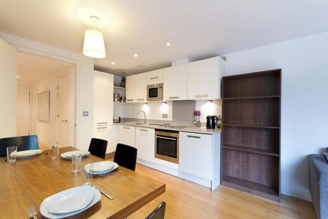 Dining Area and FullyFitted Kitchen