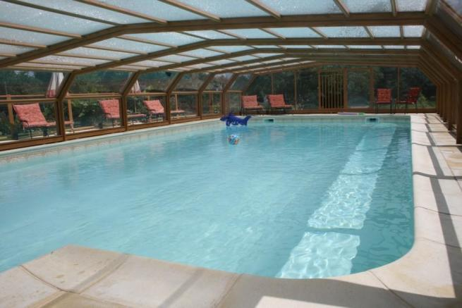 Pool under cover