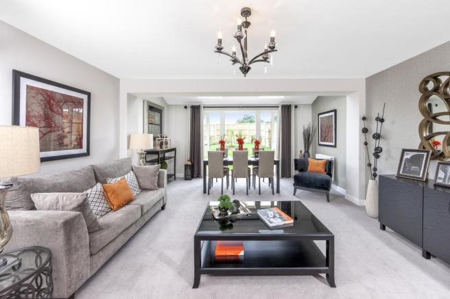 Woodvale living/dining room
