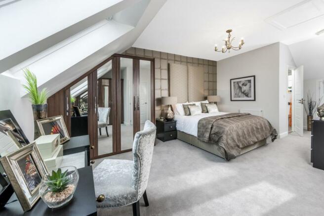 Woodvale master bedroom