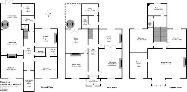 6 bedroom terraced house for sale in monkstown  dublin  ireland