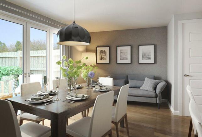 Leamington dining room
